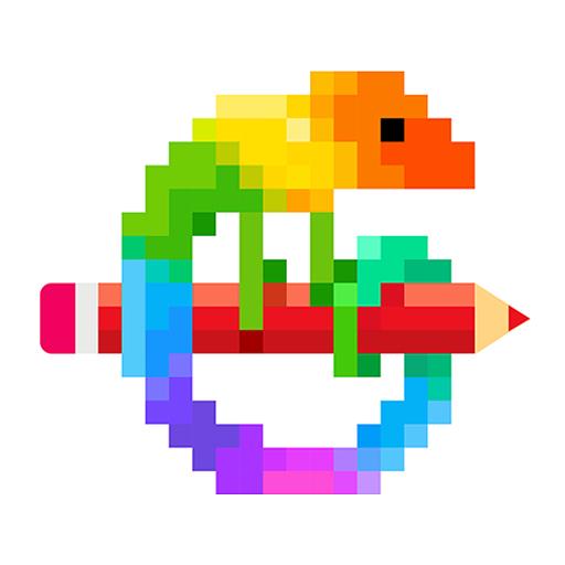 Pixel Art application coloriage numéroté