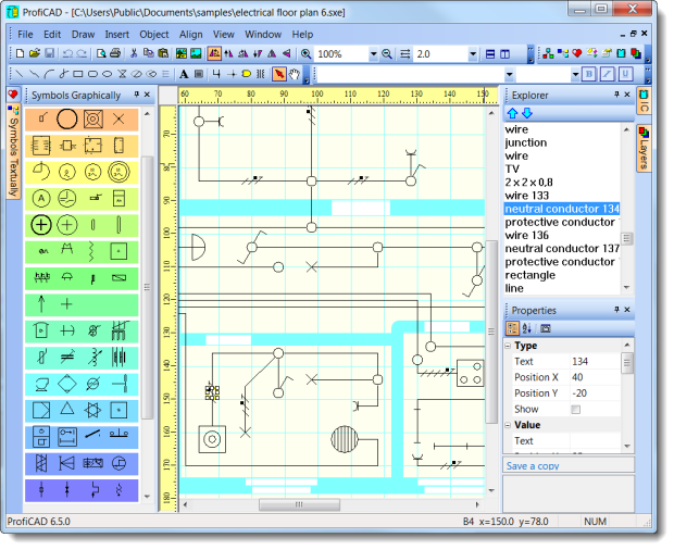 ProfiCAD logiciels de schéma électrique