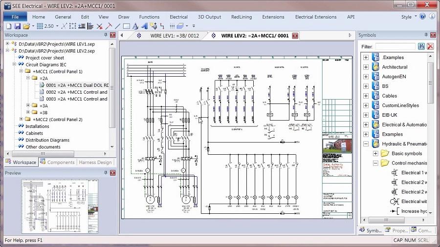 See Electrical logiciel schema electrique professionnel