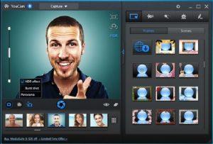 Cyberlink YouCam camera windows