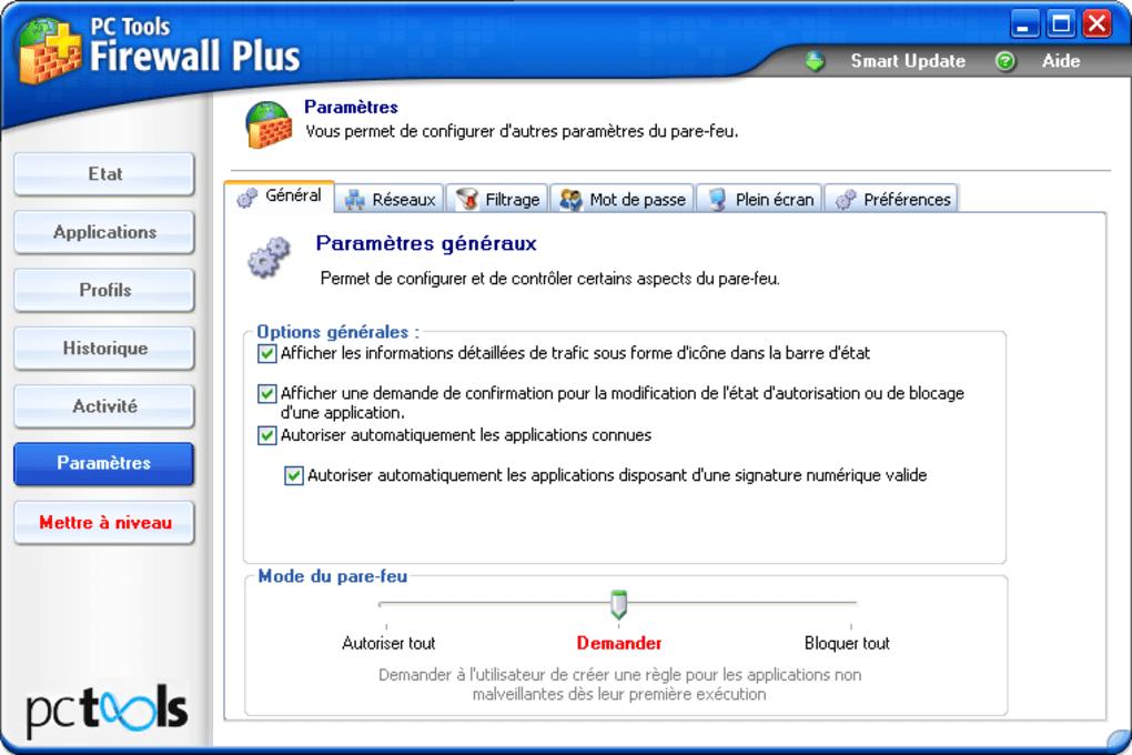 PC Tool Firewall Plus