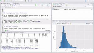 R logiciels analyse de données