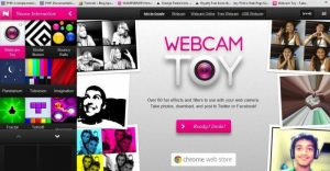 Webcam Toy camera windows