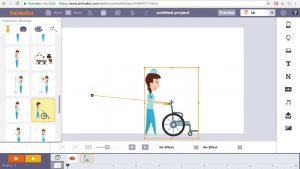 Animaker créer animation GIF