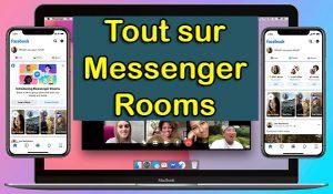 Comment utiliser Messenger Rooms comment installer messenger rooms comment créer une réunion sur messenger rooms visioconférence facebook messenger rooms vidéo conférence téléconférence