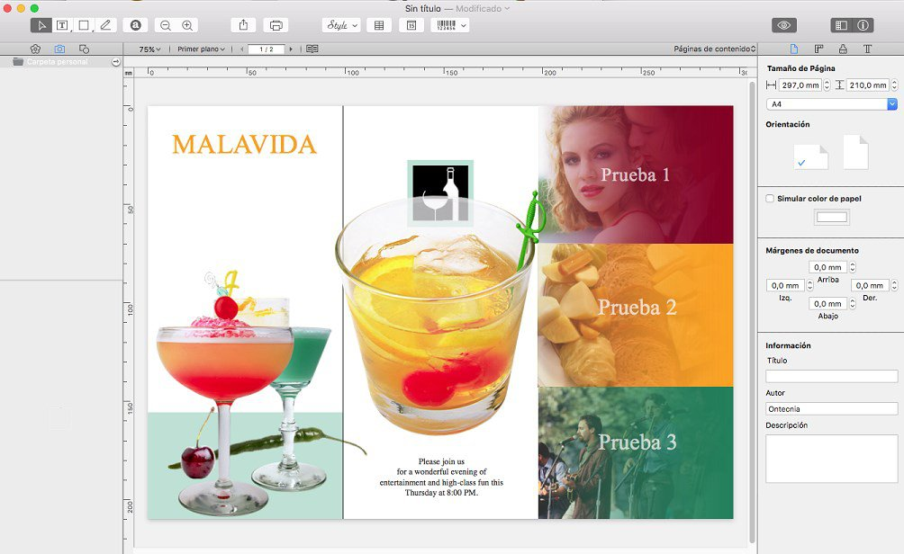 Swift Publisher alternative à indesign pour mac