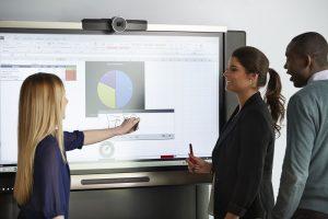 avantages de écran interactif par rapport vidéoprojecteur