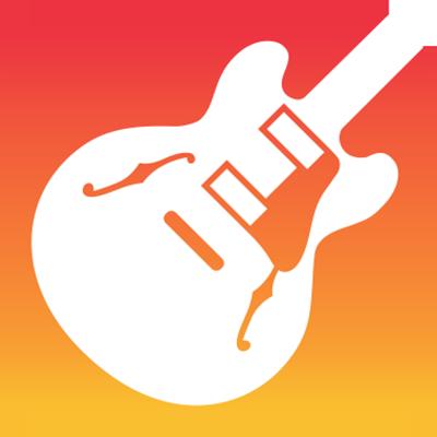 Garageband application solfège guitare
