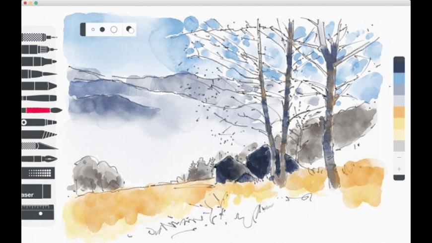 Tayasui Sketches dessiner sur ipad sans stylet