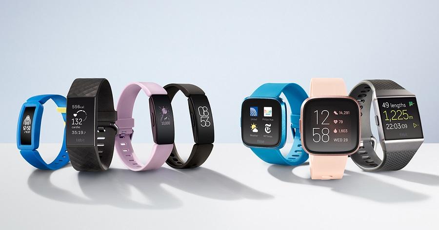 bracelets connectés de la marque Fitbit