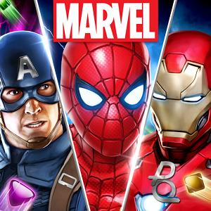 MARVEL Puzzle Quest bataille des Super Héros
