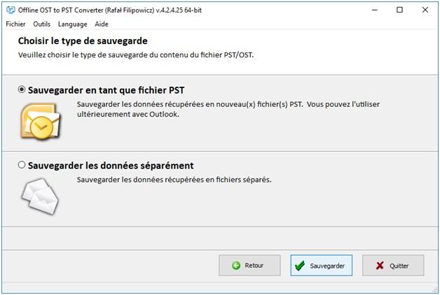 fichier PST