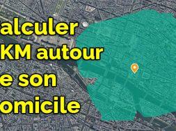 Comment calculer le rayon 1 km autour de chez moi comment calculer 1 km autour de chez soi geoportail 1km autour de moi maps google maps 1 km radius