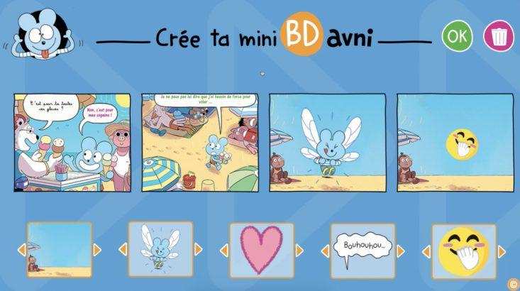 Crée ta BD avec Avni logiciel de bande dessinée