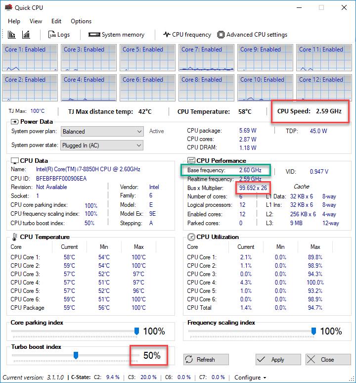 Quick CPU meilleur logiciel température pc