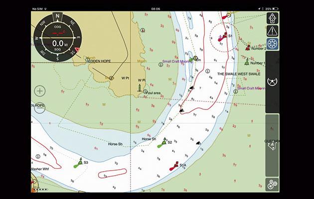 iSailor meilleur logiciel de navigation