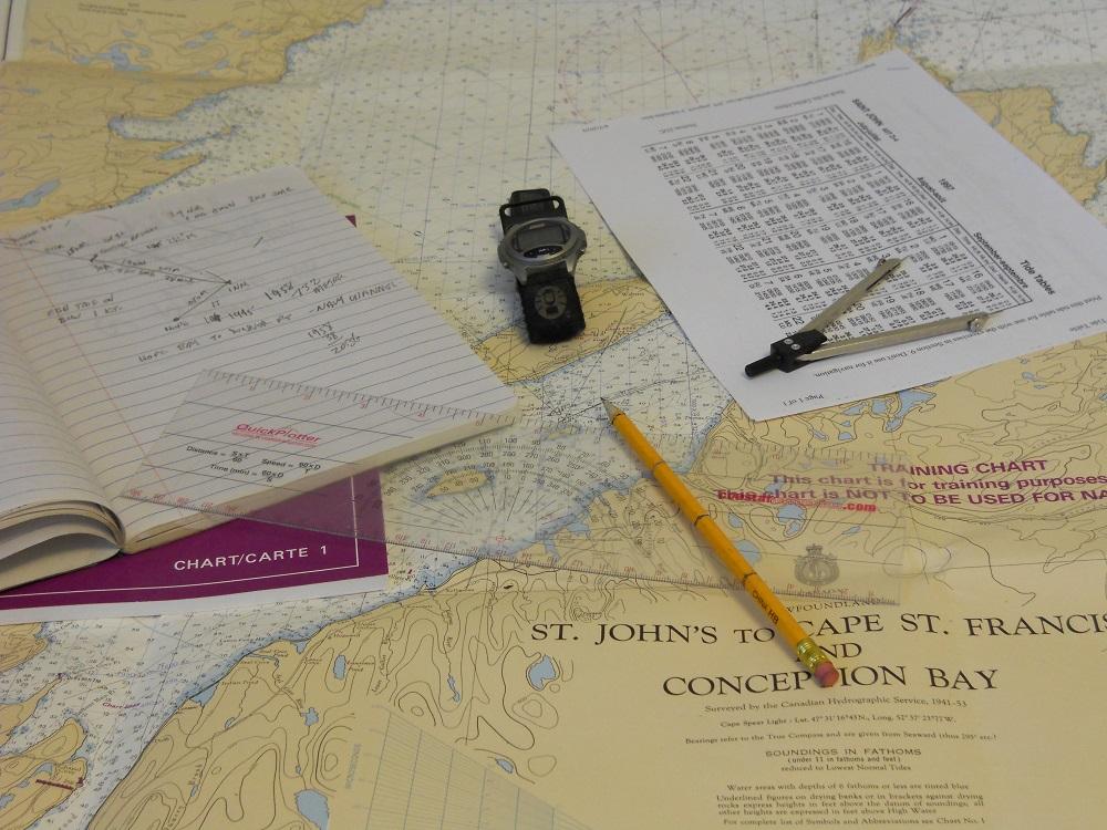 outils et logiciels de navigation marine