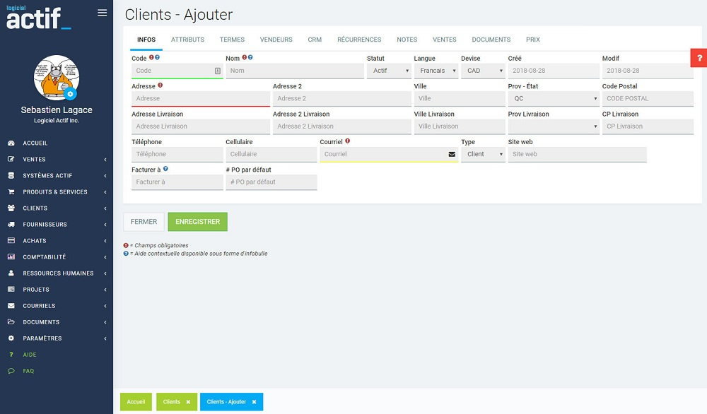 Logiciel Actif logiciel comptabilité simple gratuit