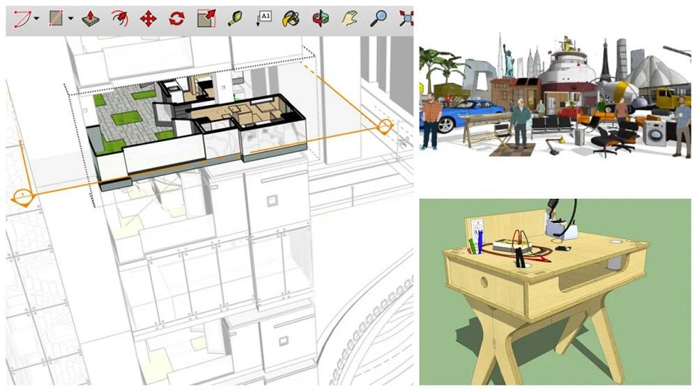 SketchUp logiciel 3d gratuit maison