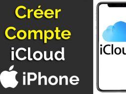 comment créer un compte icloud gratuit sur iPhone, créer un identifiant icloud comment créer un identifiant apple creer adresse mail icloud faire un compte icloud