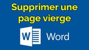 comment supprimer une page vierge sur word supprimer page blanche word supprimer page vide word supprimer page vierge word supprimer page sur word