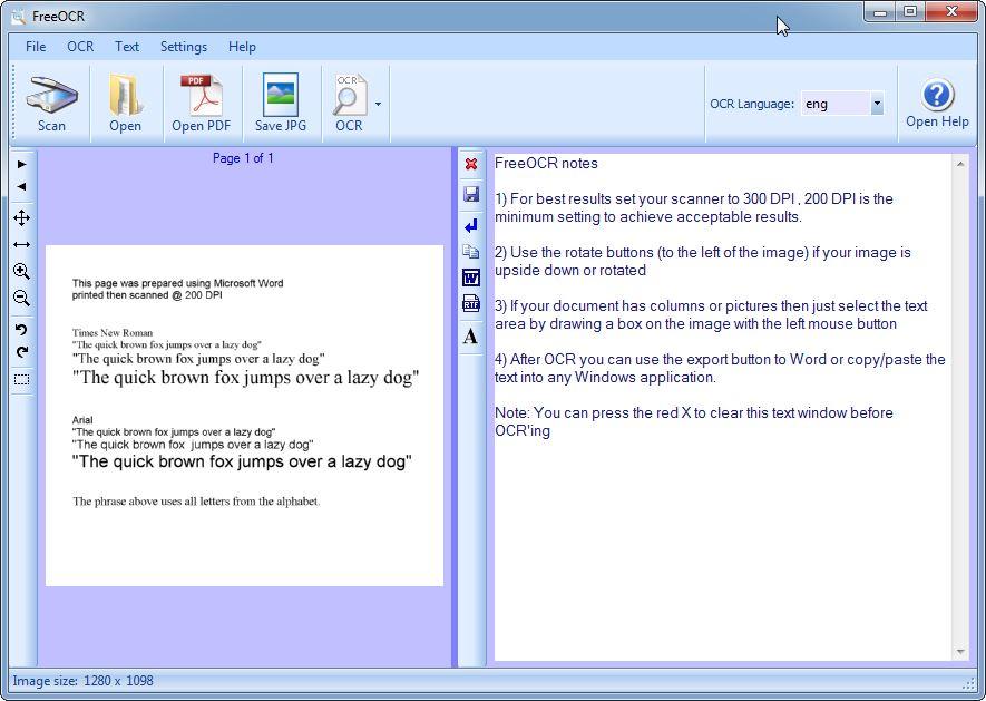 FreeOCR reconnaissance d'écriture manuscrite en ligne