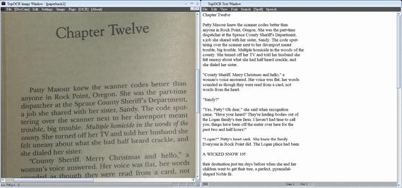 TopOCR déchiffrer écriture manuscrite