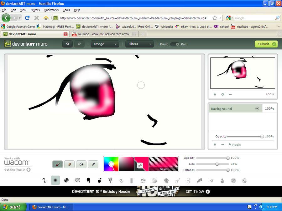 Deviantart Muro création de dessin en ligne