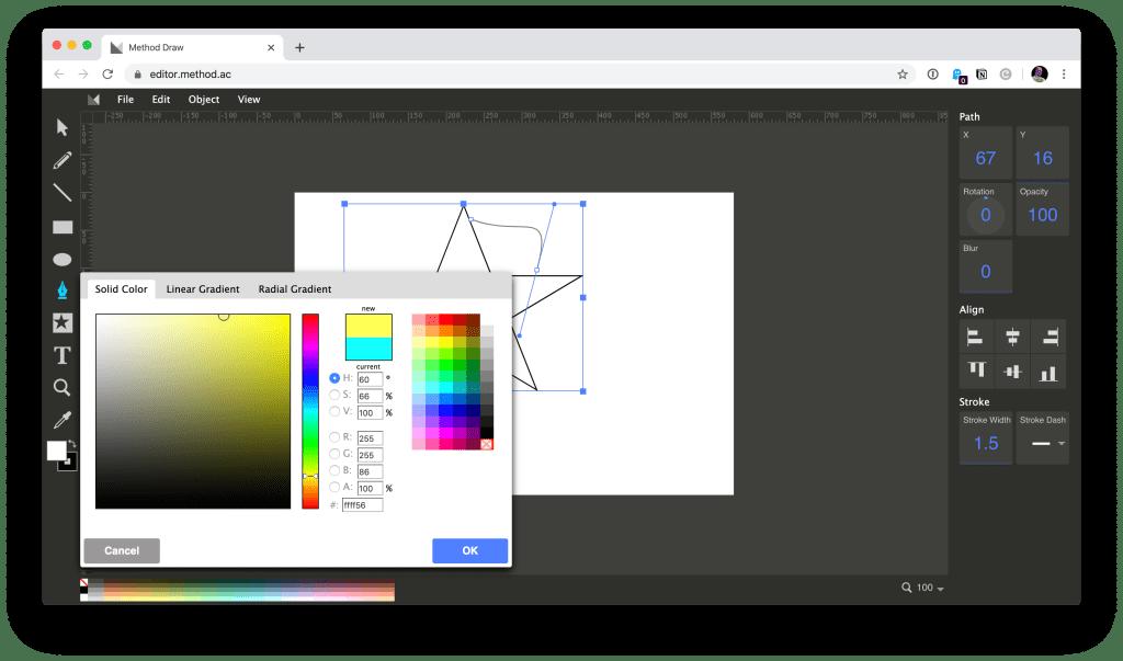 Editor Method dessiner en ligne gratuit