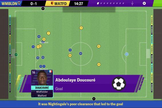 jeux de football sur Android