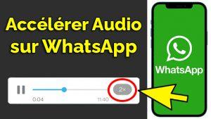 Comment accélérer la vitesse d'un audio sur WhatsApp comment écouter les audios WhatsApp x2 android accélérer audio whatsapp accélérer vitesse audio whatsapp
