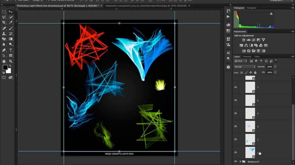 Corel ParticleShop filtre artistique photoshop gratuit