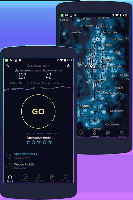 applications pour tester la vitesse internet