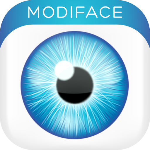 Eye Color Studio enlever les yeux rouges application