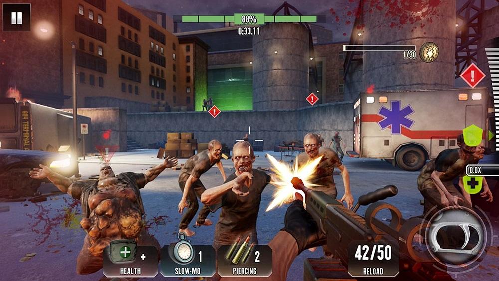 meilleurs jeux de zombie pour Android