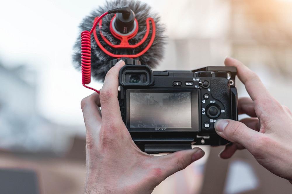 outils pour faire un Vlog