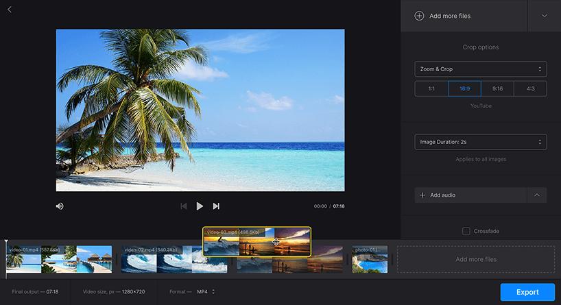 Clideo Compresser une vidéo gratuitement