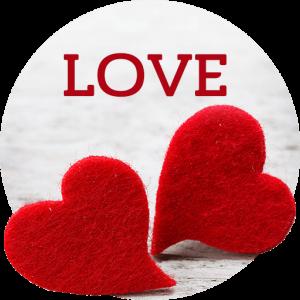 Fonds écran d'amour
