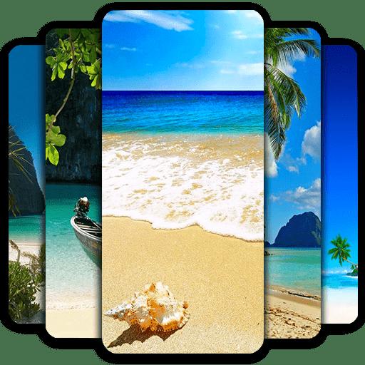 HD Beach Wallpapers fond écran qui change tout seul android