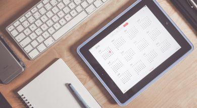 applications de gestion d'emploi du temps